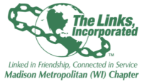 Madison Metropolitan (WI) The Links, Inc. Logo